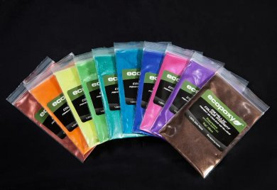10 Packs Ecopoxy Metallic Color Pigments